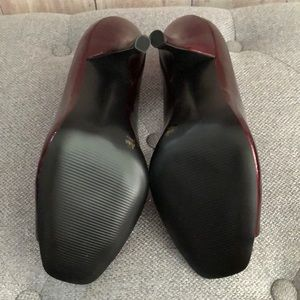 BCBGeneration Shoes - BCBGeneration Ariel. Glossy deep red. Size 8 1/2